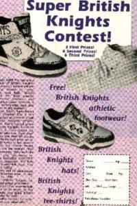 Super British Knights Contest! – 1990's