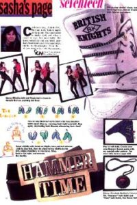 Sasha's Page – 1991