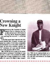 A New Knight – 1992